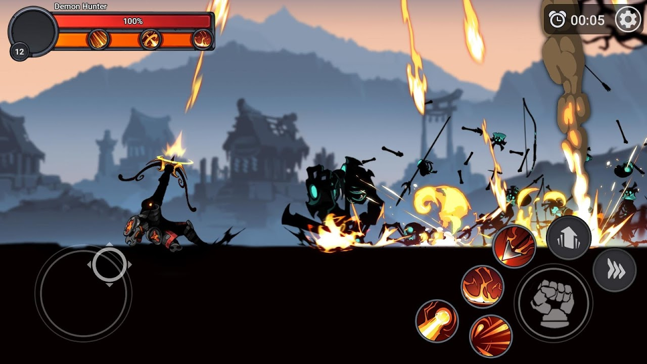 Stickman Master: League Of Shadow – Ninja Fight