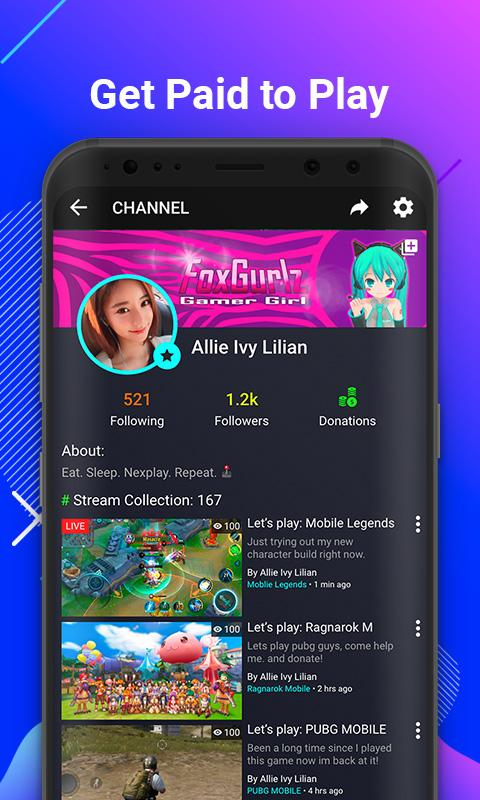 NEXPLAY – Mobile Live Streaming