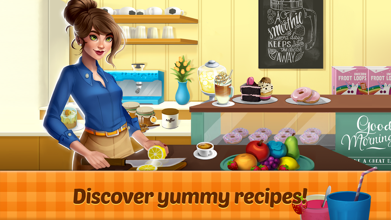 Fancy Cafe Mansion – Restaurant renovation games