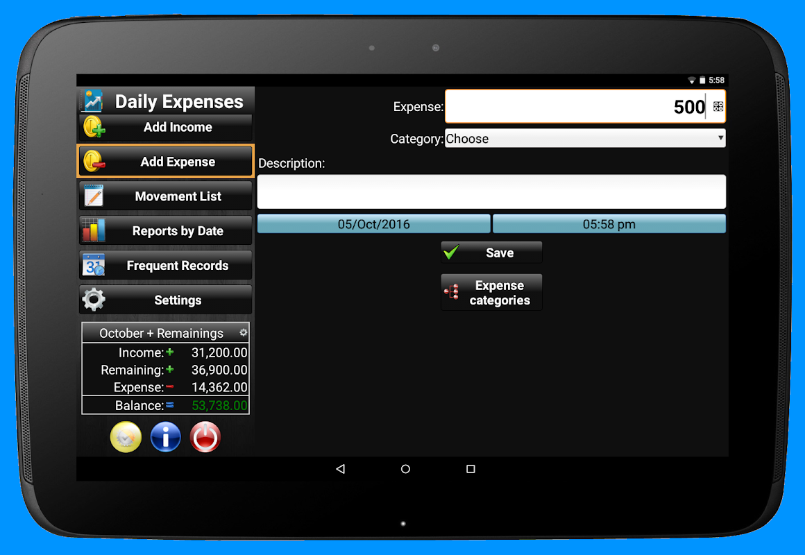 Daily Expenses 2: Personal finance