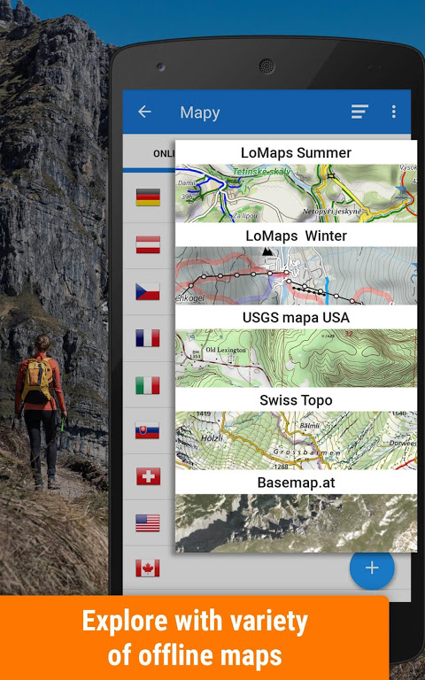 Locus Map 4: Hiking&Biking GPS navigation and Maps