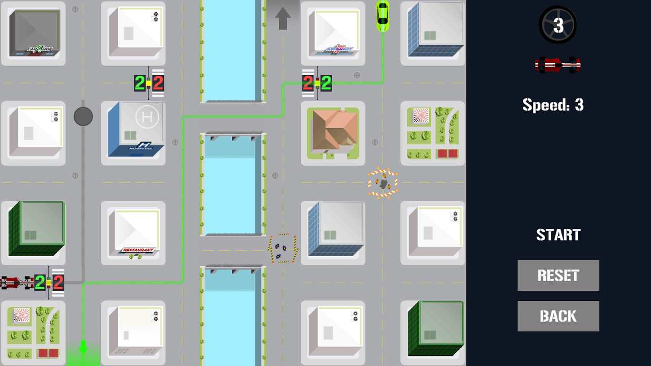 Traffic Control Puzzle – City Driving