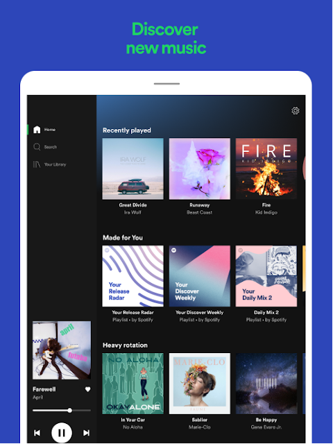 Spotify: Find music and listen to songs you love