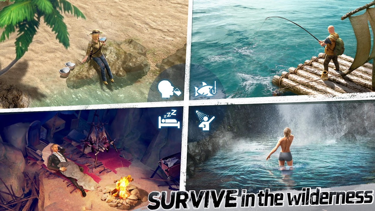 LOST: Survive the Zombie Islands
