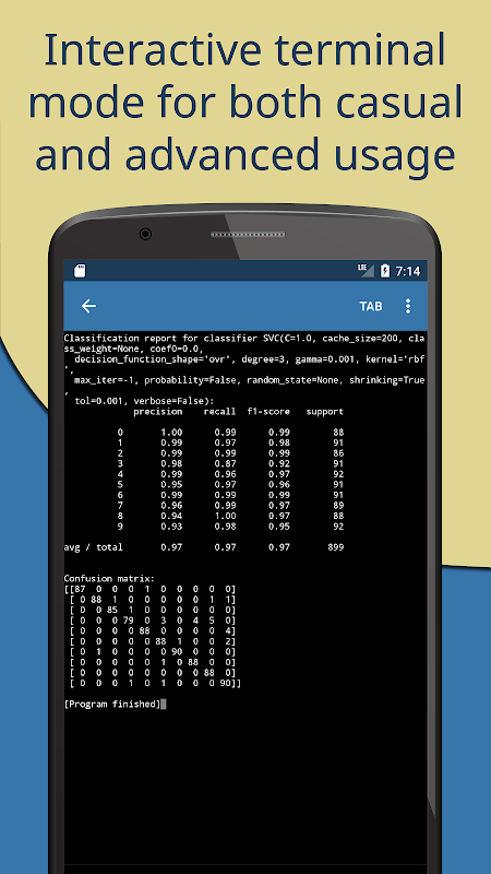 Pydroid 3 – IDE for Python 3