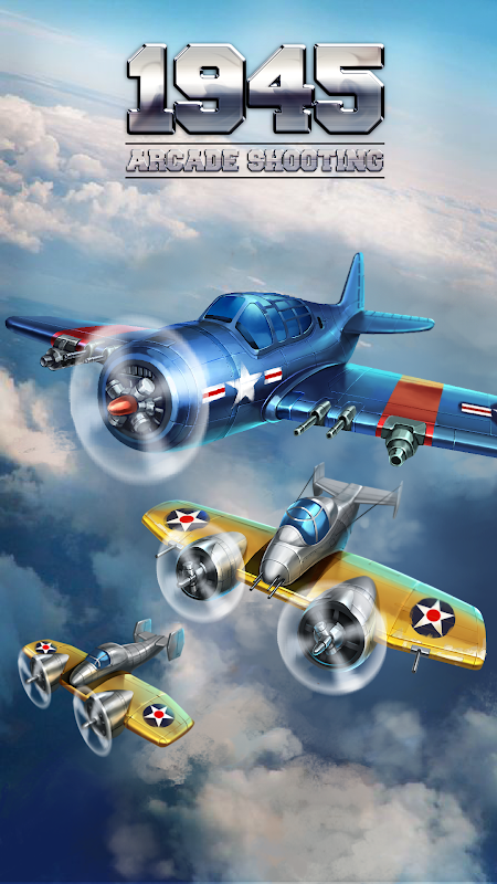 1945 Air Force: Airplane Shooting Games – Free