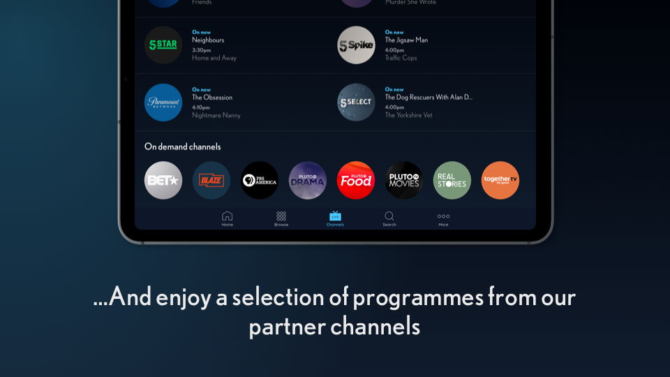 My5 – Channel 5