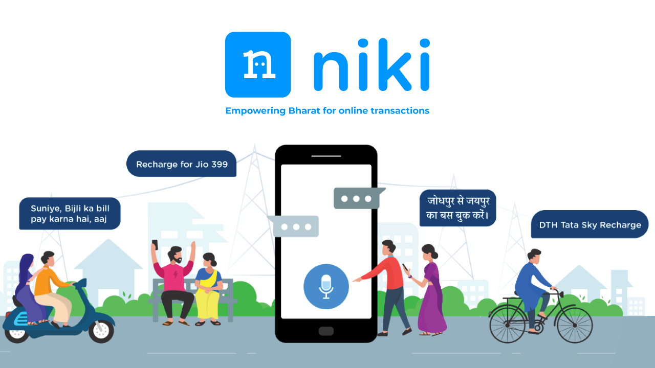 Niki: Ration, Online Recharge & Bill Payment