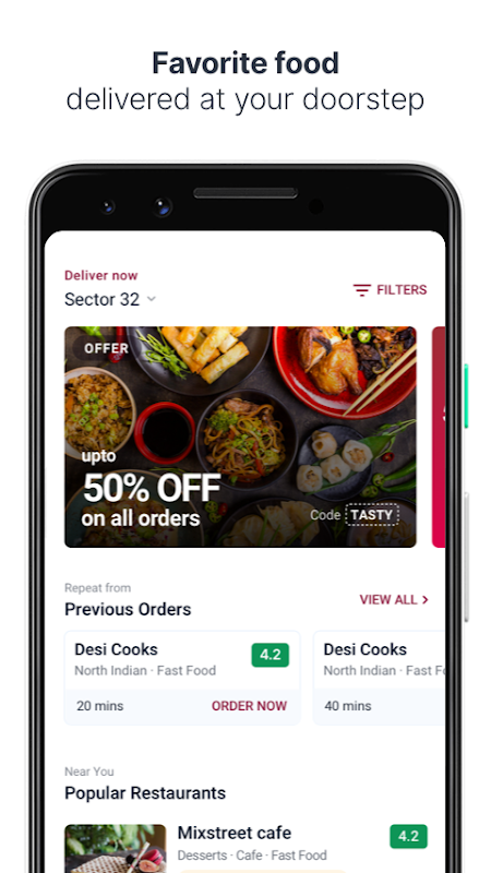Fingertips – Food and Grocery Online Delivery