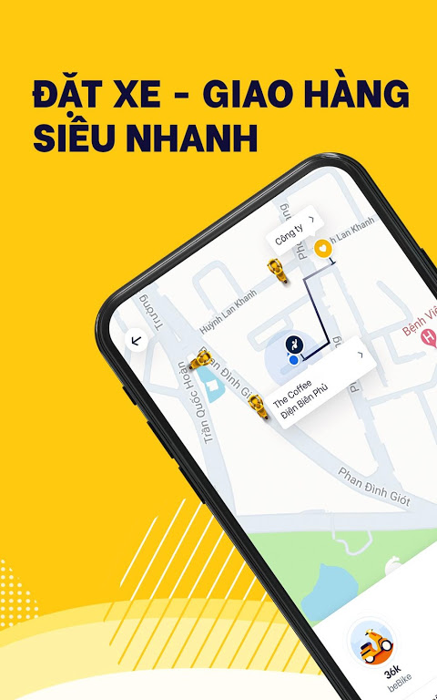 be – Vietnamese ride-hailing app
