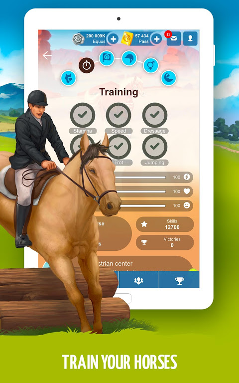 Howrse – free horse breeding farm game