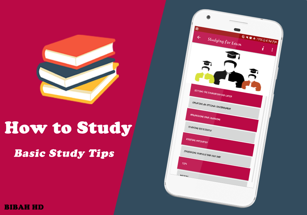 How to study Tips for Study