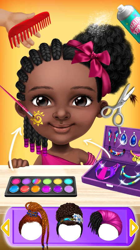 Pretty Little Princess – Dress Up, Hair & Makeup