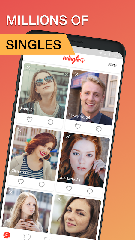 Mingle2: Free Dating App to Chat & Meet New People