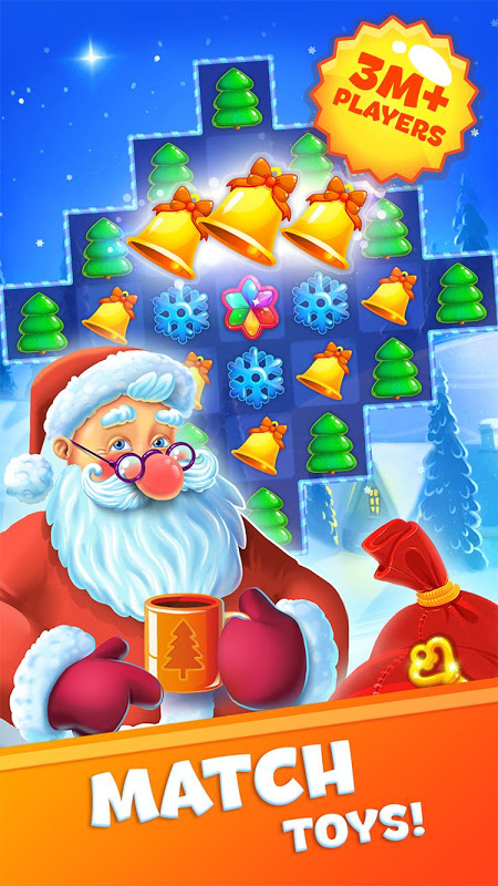 Christmas Sweeper 3 – Santa Claus Match-3 Game