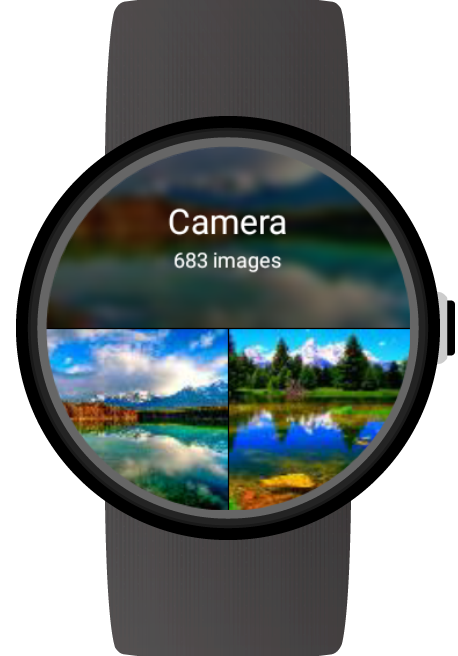 Photo Gallery for Wear OS (Android Wear)