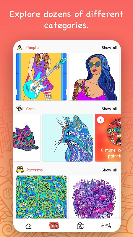iPaint – Coloring Book
