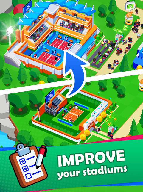 Sports City Tycoon – Idle Sports Games Simulator