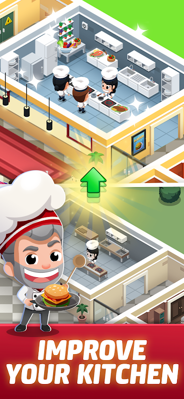 Idle Restaurant Tycoon – Build a cooking empire