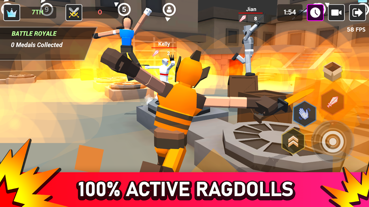 Smashgrounds.io: Epic Ragdoll Battle