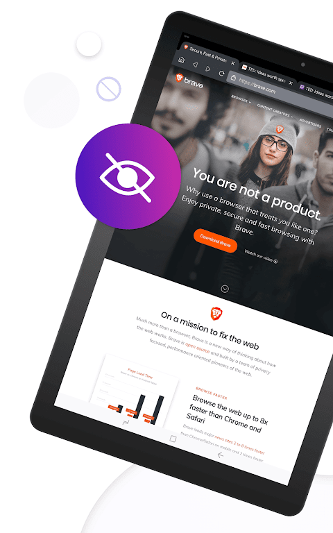 Brave Private Browser: Fast, secure web browser