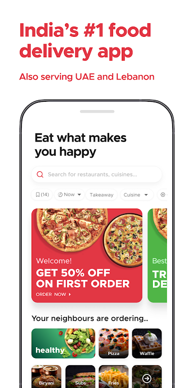 Zomato – Online Food Delivery & Restaurant Reviews