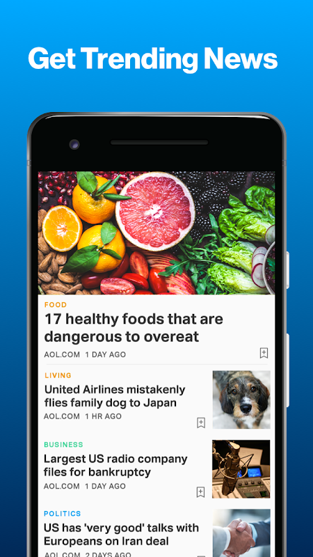 AOL – News, Mail & Video