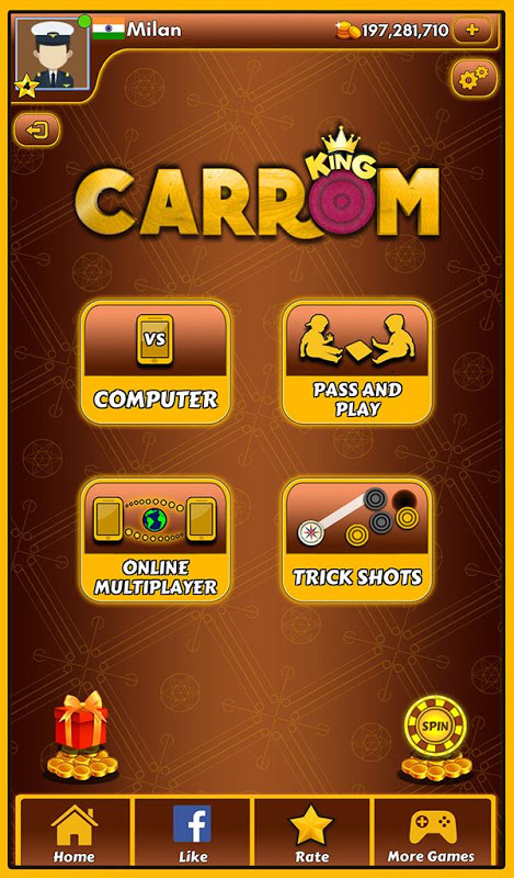 Carrom King™ – Best Online Carrom Board Pool Game