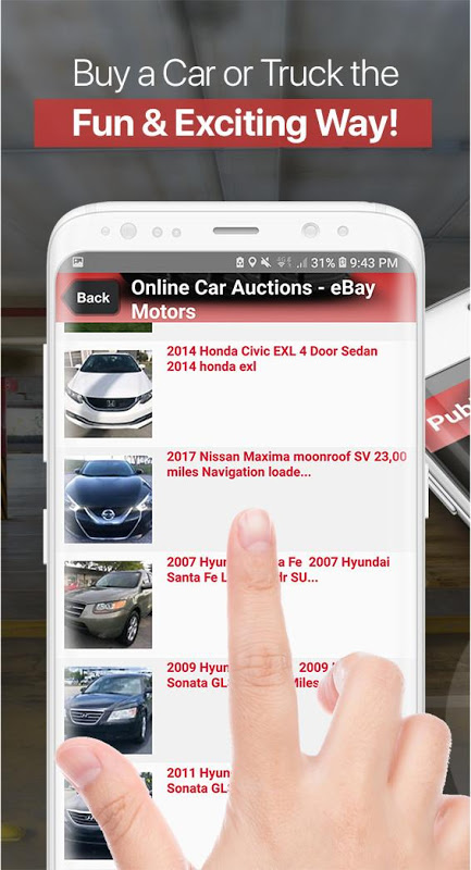 Auto Auctions App – Used Cars and Trucks USA