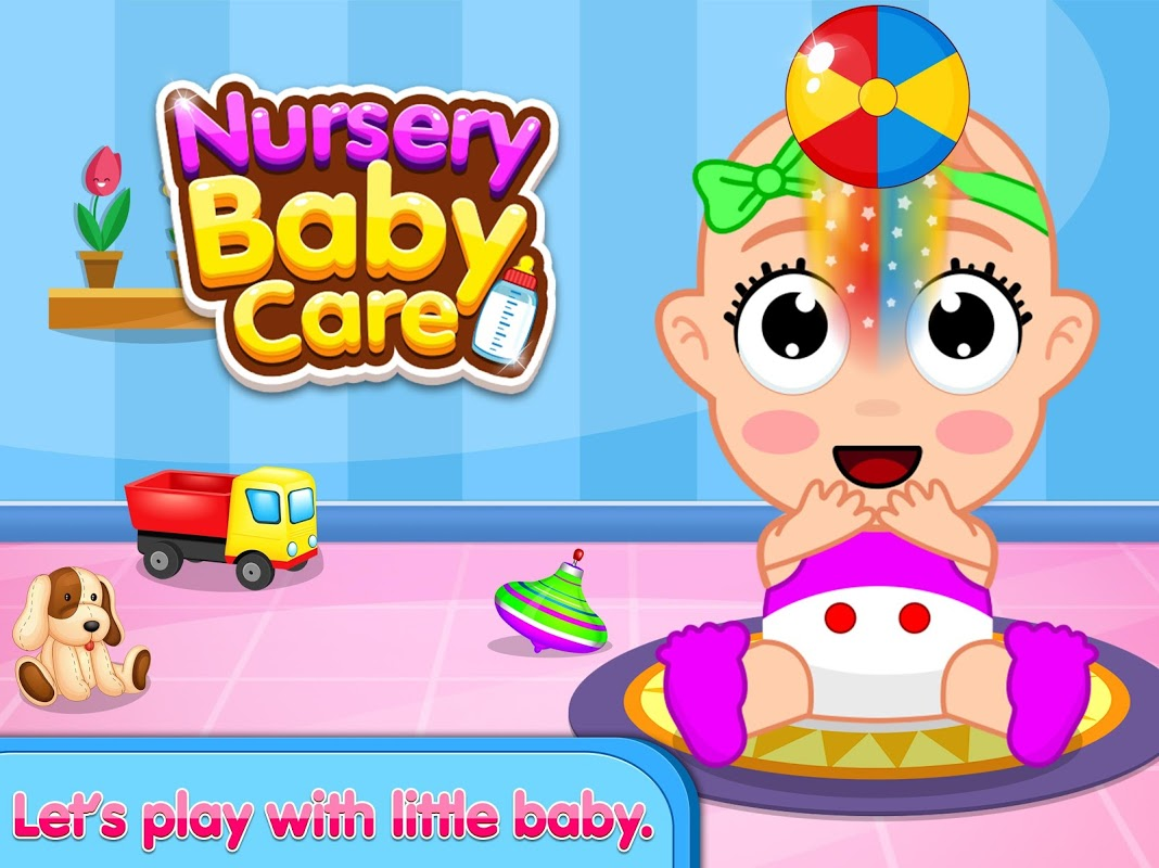 Nursery Baby Care – Taking Care of Baby Game