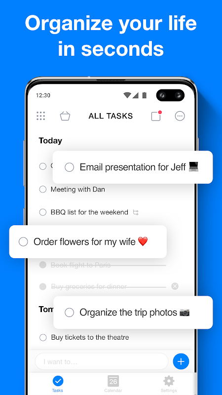 Any.do: To do list, Calendar, Planner & Reminders