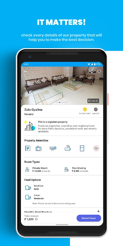 Zolo Coliving App: Managed PG/Hostels/Shared Flats