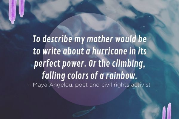 Maya Angelou Poems Mothers 2