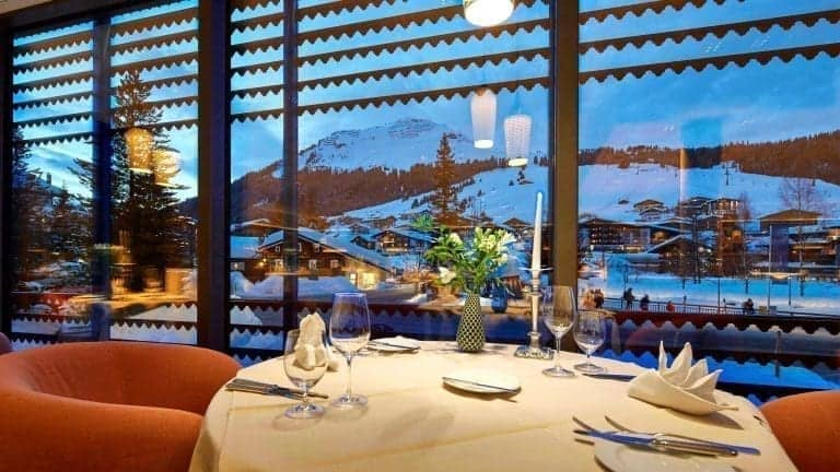 "Restaurant ""Postblick""; Hotel Gasthof Post, Moosbrugger family, Lech am Arlberg, Austria"