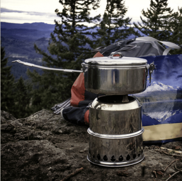 camping gasifier stove