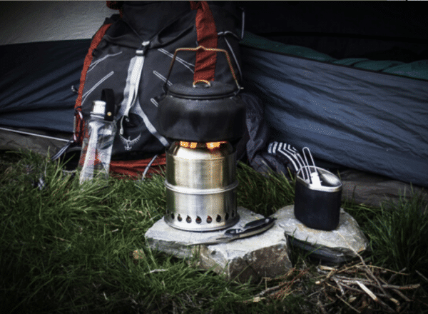 outdoor gasifier stove