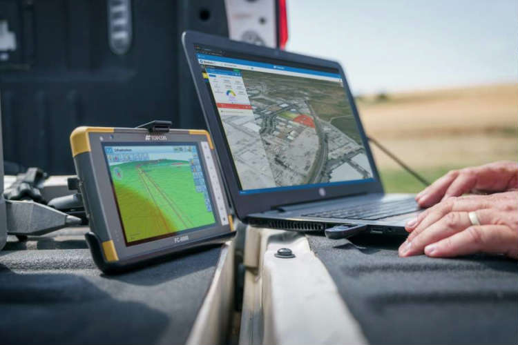 Topcon's MAGNET7 software