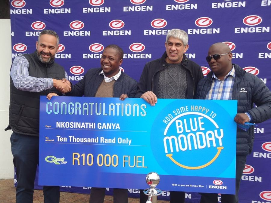 """Beat """"Blue Monday"""" and win a R10 000 fuel voucher"""
