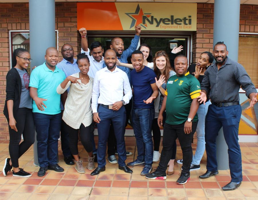 Young engineers of Nyeleti Consulting