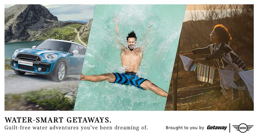 MullenLowe launches Water-Smart Getaways campaign for MINI