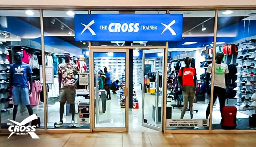 One of The Cross Trainer's newly revamped stores.
