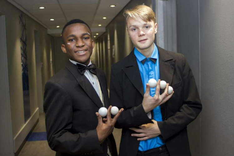 Alfred Baba and Sebastien van den Hoogen, Cape Town's proud teen illusionists, won the 2020 Western Cape Junior Stage Magician Champion and runner's up trophies at the virtual battle of the teen wands on Saturday 5 September 2020!