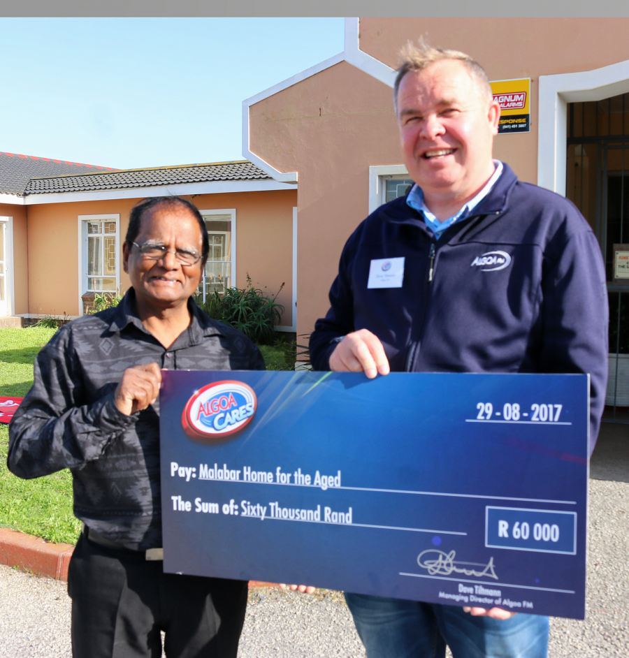 R60 000 raised for Malabar Home for the Aged