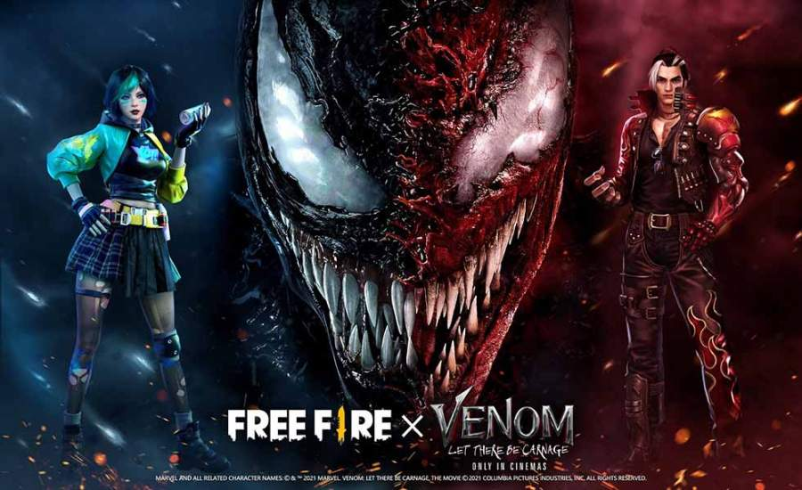 Embrace the Chaos with Free Fire's first-ever movie crossover with Venom: Let There Be Carnage