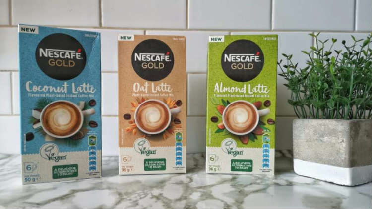 Gear up for Autumn with NESCAFÉ GOLD Plant-Based Mixes