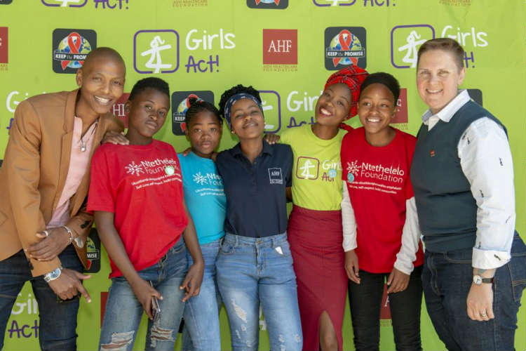 AIDS Healthcare Foundation SA commemorates International Day of the Girl Child with the premiere of their uplifting film Girls ACT