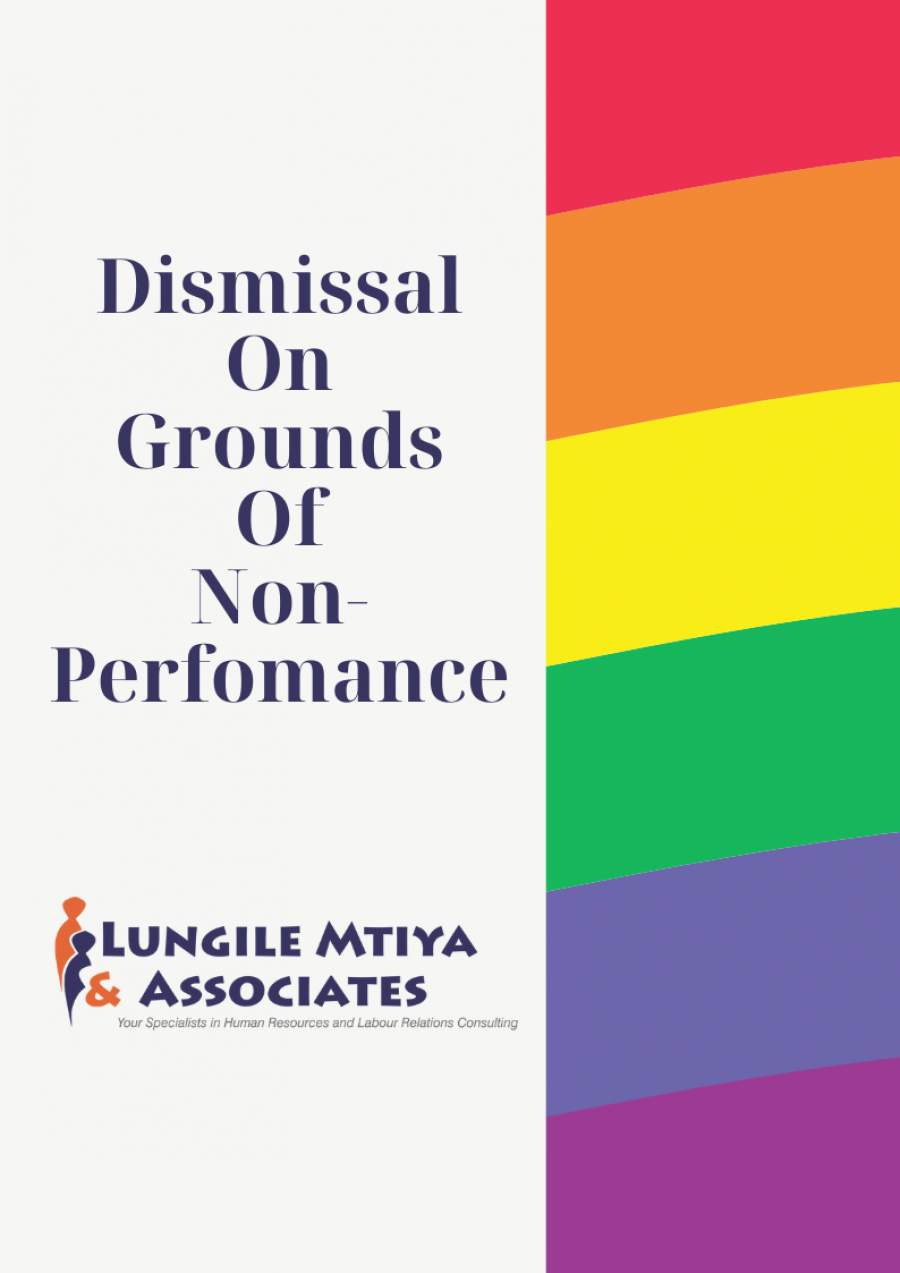 Dismissal due to non performance