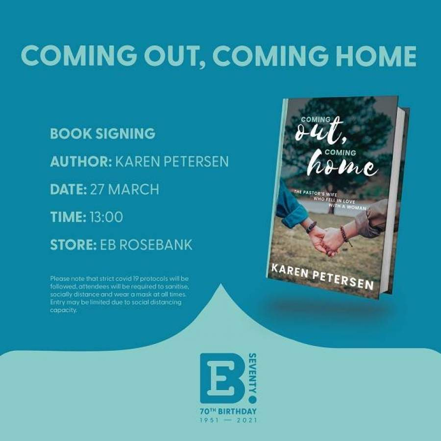 Coming Out Coming Home Book Signing