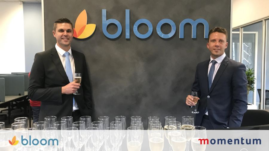 Tony Taylor and John Kruger at the Bloom office in Umhlanga Ridge.