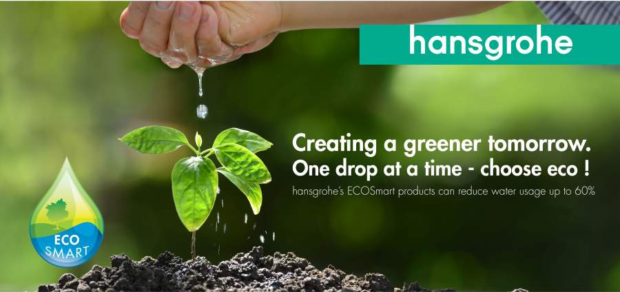 Protecting our most precious natural resource with hansgrohe